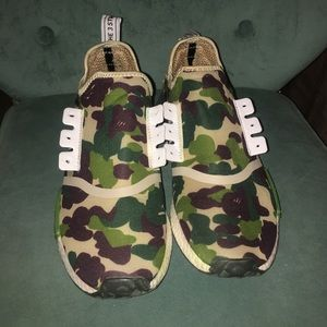 Bape nmds (not) authentic